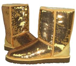 Ugg boots, UGG Sparkles, Ugg sparkles, ugg sparkles, gold sparkles by ugg, jt murdoch shoes, jt murdoch in bloomfield, mary murdoch, new balance, munro, clark, geox, sas shoes