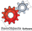 The twin gear logo for RemObjects Software - The Infrastructure Company