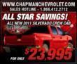 All-Star Savings at Chapman Chevrolet