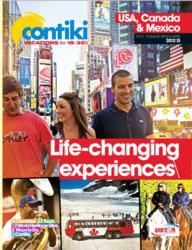 Contiki 2012-2013 USA Canada Mexico Brochure
