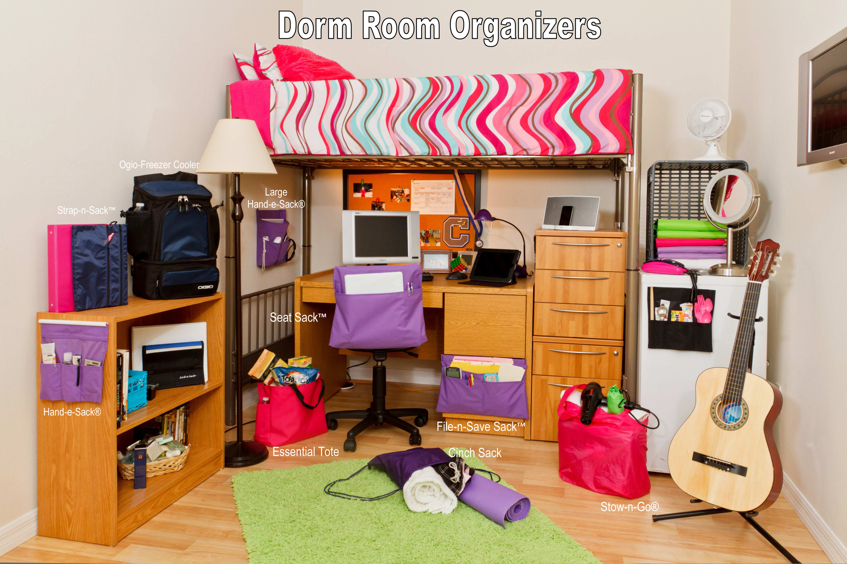 Dorm Room: Get Organized For Back To School With A Free Organizer