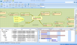 Software for mind mapping, visual thinking and brainstorming