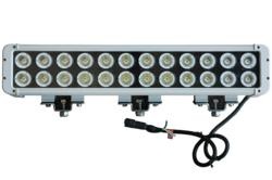 IP68 rated waterproof and designed to resist the destructive effects of salt water and the elements, these high intensity LED light bars offer excellent high lumen output coupled with low power requirements.