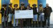 Embrace Gives $1000 to Buffalo Soldiers
