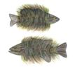 """Fur-Bearing Fish from """"Mysterious Beasties of the Northwoods"""""""