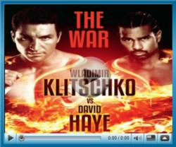 David Haye vs Wladimir Klitschko Live Streaming