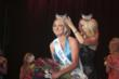 Native Las  Vegan Alana Lee is crowned the new Miss Nevada by 2010 queen Cris Crotz in the CasaBlanca Showroom.