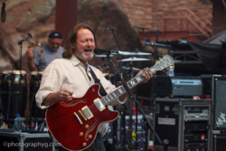 Widespread Panic plays at Red Rocks Amphitheater.