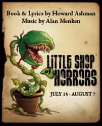 Little Shop of Horrors playbill