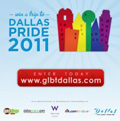 Win a Trip to Dallas Pride 2011