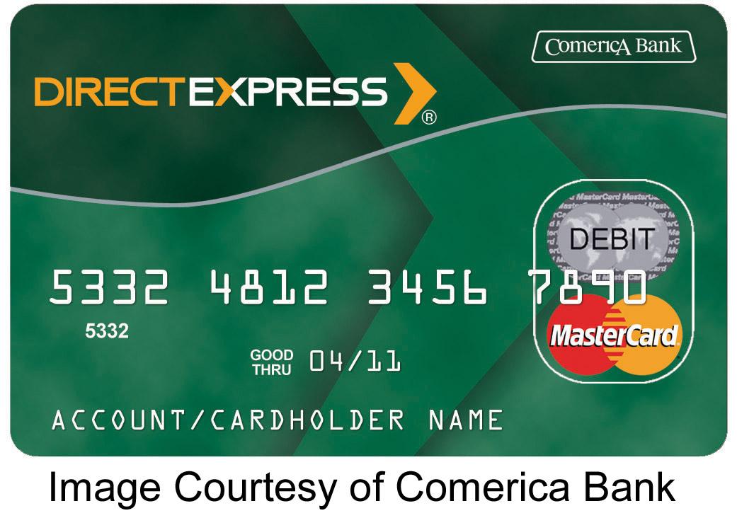 Debit card deposit