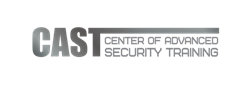 Advanced Security Training - CAST Logo