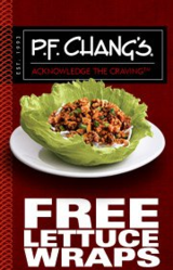 Get your free lettuce wrap with a free coupon from P.F. Chang's