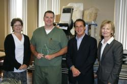 Dr. Alexander Receives Partners In Excellence Award from Hospital Physician Partners.