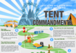 Thou Shalt Obey the Outdoor World Direct Tent Commandments