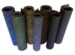 Elephant Bark Recycled Rubber Gym Flooring