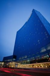 The JW Marriott is a 1,005-room hotel located in downtown Indianapolis.