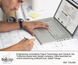 Engineering consultant using Tolcap for online tolerancing calculations
