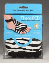 Soothing relief for cramped, achy toes & feet