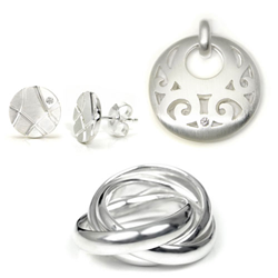sterling silver diamond jewelry