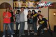 MYX TV 's K-Pop TaKeover team:  Alvin Gomez, Franz Arzadon, Rondah Arzadon, Miguel Santos, Anthony Garcia, Nicki Sun, Katrina Ledesma  and Jany Ly
