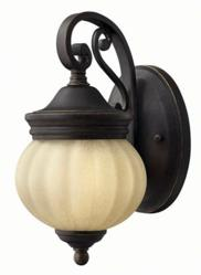 Olde Black Outdoor Wall Light by Hinkley Lighting