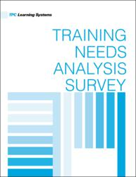 Revised Training Needs Analysis Includes Enhanced Descriptions