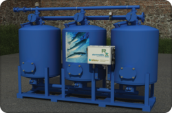 StormwateRx Retenu industrial stormwater roughing filter for high sediment loading applications