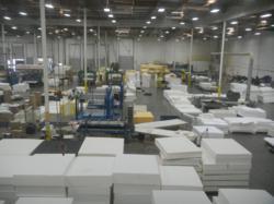 memory foam mattress facility helping to produce eco friendly memory foam mattresses