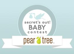 Pear Tree Greetings, a top creator of birth announcements offers up to $1000 Visa Gift Card for the best pregnancy announcement stories