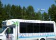 Flight #627 arrives over Wiki Wiki for landing at Bellingham International Airport