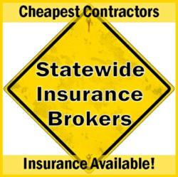 general liability insurance, surety/performance bonds, commercial vehicle insurance and workers compensation insurance