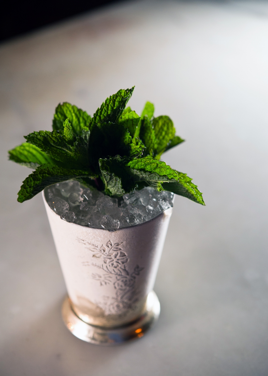 cream mint julep ice cream mint julep moderne cognac julep cocktail ...