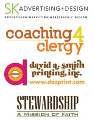 Strategic Partners | SK Advertising+Design, David A. Smith Printing, Coaching4Cleargy, and Stewardship a Mission of Faith