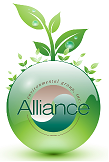 alliance enviro green leaf logo