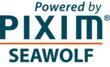 Pixim's new Powered by Pixim Seawolf logo