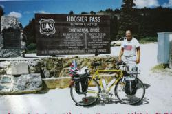Hoffman at Hoosier Pass in Colorado