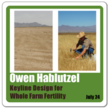 Owen Hablutzel, Director of the Permaculture Research Institute USA, teaches Keyline Design