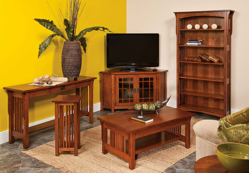 Amish furniture store weaver furniture sales reveals new for Mission style furniture