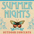 2014 Summer Nights Outdoor music festival.  22 years of Outdoor concerts in a beautiful No. Calf. setting