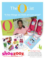 Shoezooz are named to the O List by Oprah Magazine