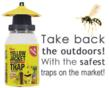 Safer Brand Traps Keep Yellow Jackets and Flies from Crashing the...