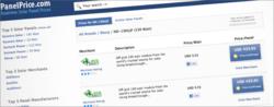 PanelPrice.com - New service for solar panel price comparison