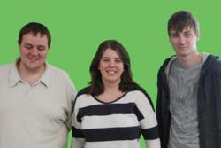 Iain Cambridge, Rachel Shillcock and Ben Ely - new developers at Fluid Creativity