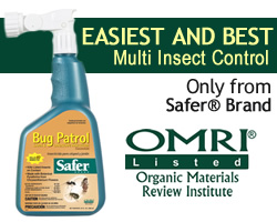 Safer Brand Bug Patrol - Easiest and Safest Multi-Insect Control!
