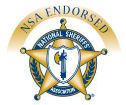 National Sheriffs' Association Endorsement Badge.