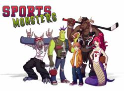 PadWorx Digital Media Sports Monsters