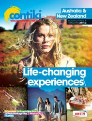 Contiki 2011-2012 Australia New Zealand Brochure