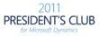 2011 Microsoft Dynamics President's Club