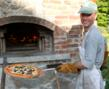 At Common Ground, meals are prepared with organic and local produce where ever possible. Brick oven pizza is a camper favorite!